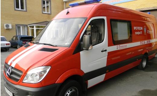 Новые пожарные машины получили в главном управлении МЧС по региону ...