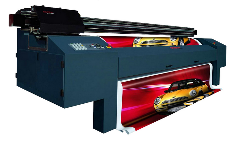 Широкоформатная печать как средство коммуникации